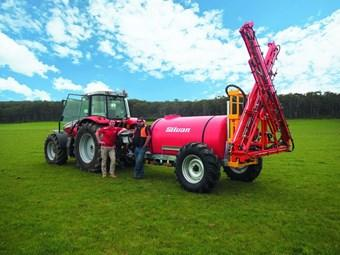 Pasture sprayer offers solution