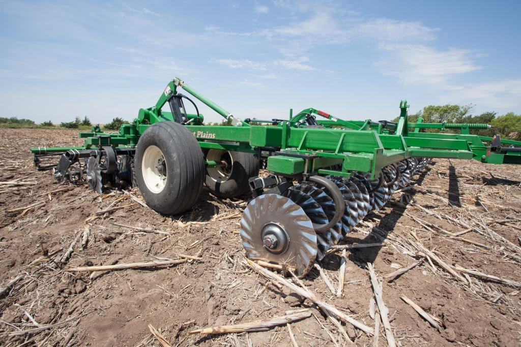 Vertical tillage maximising yields