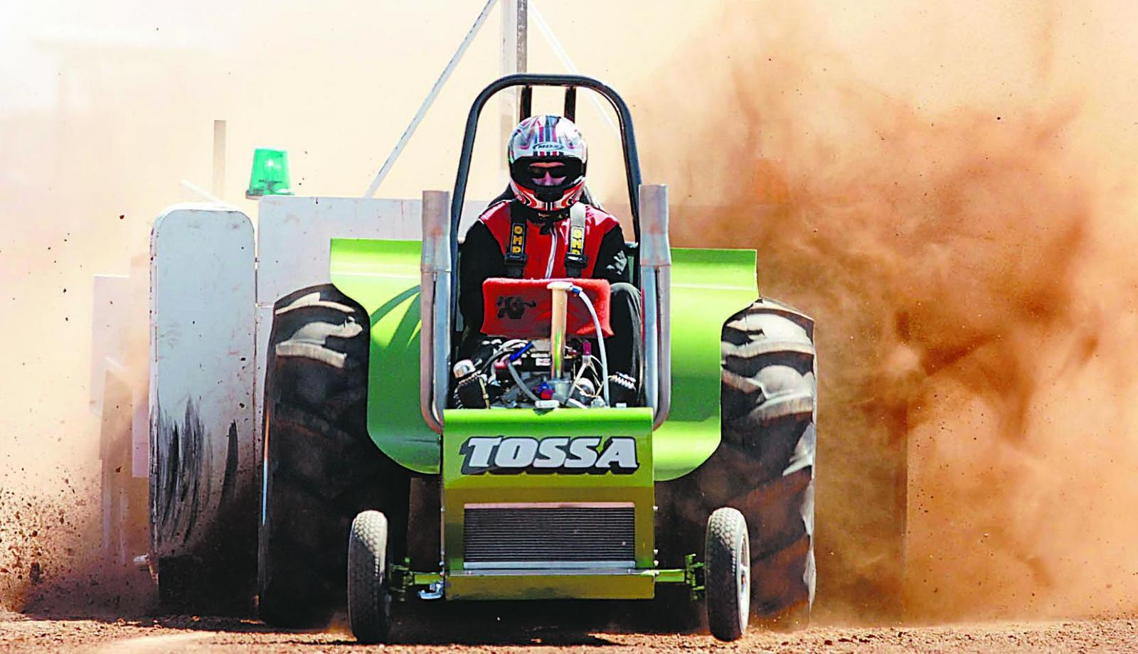 WIN- tickets to the Australian Tractor Pull Championships