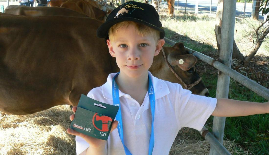 Youngsters in the show ring