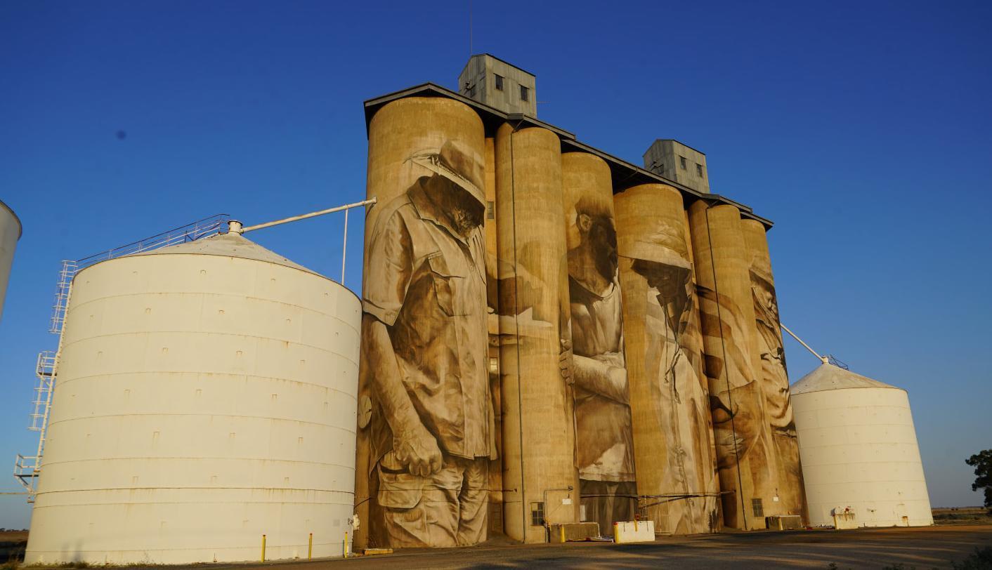 GrainCorp opens way for more silo art