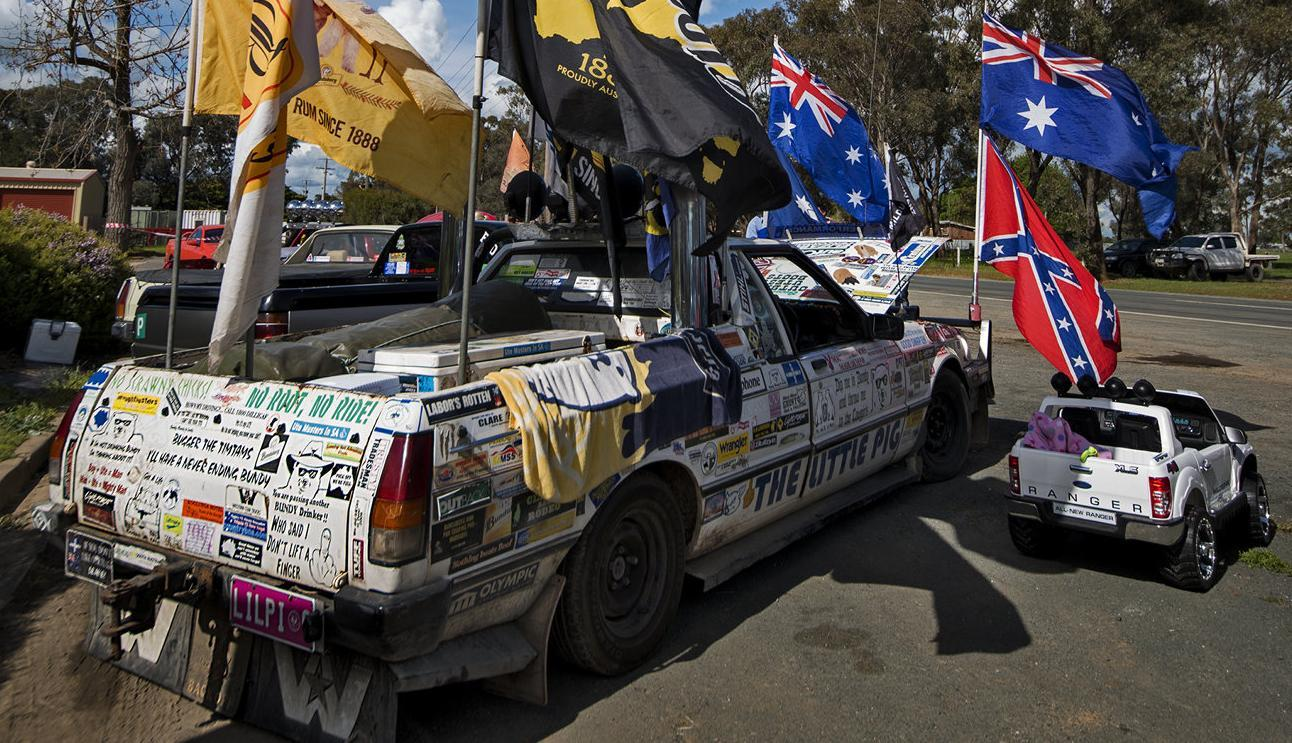 Ute show on at Stanhope