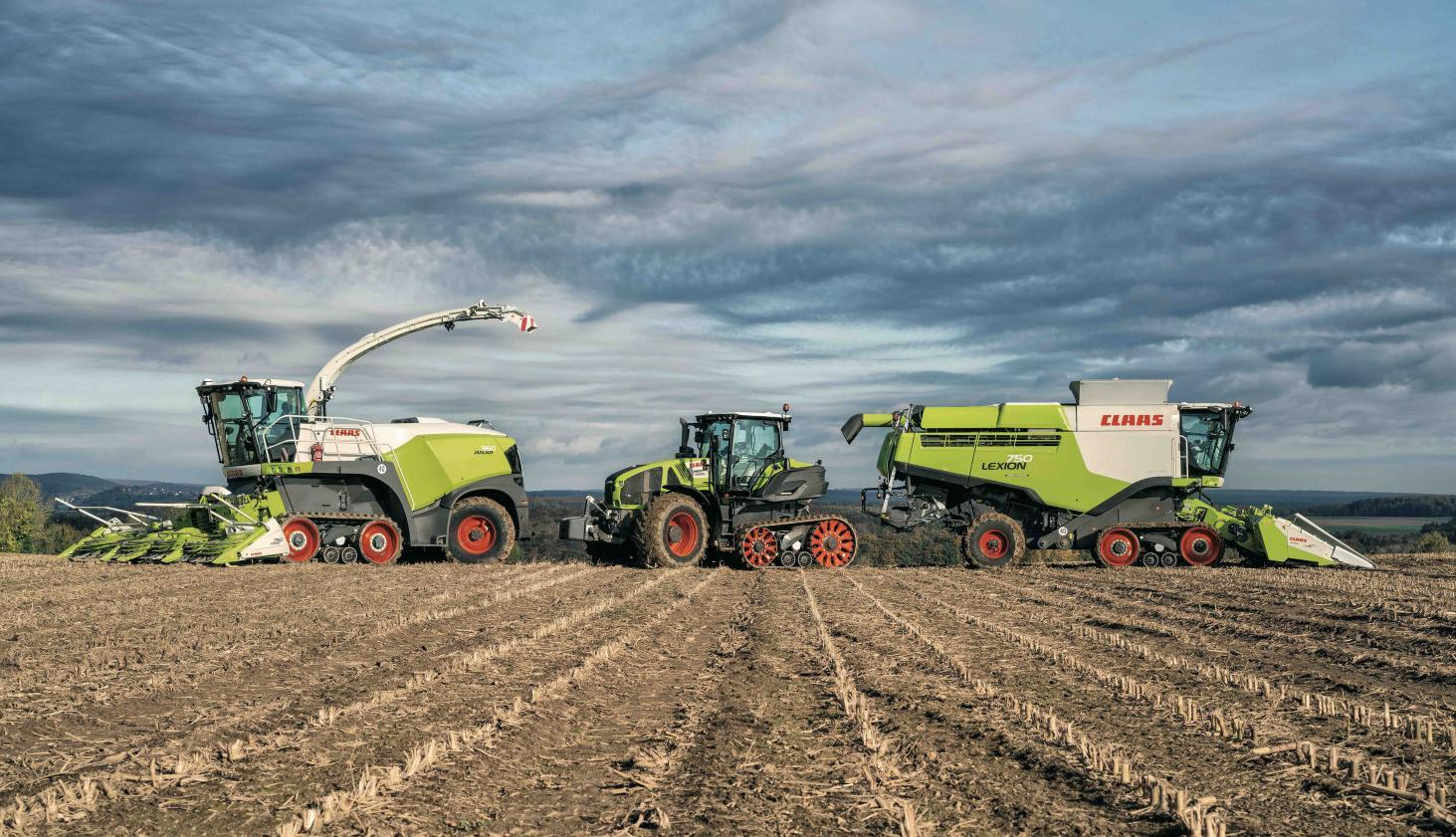 CLAAS shows prototypes