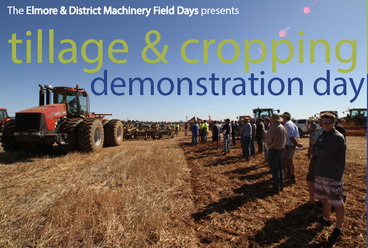 Tillage and Cropping Demonstration Day