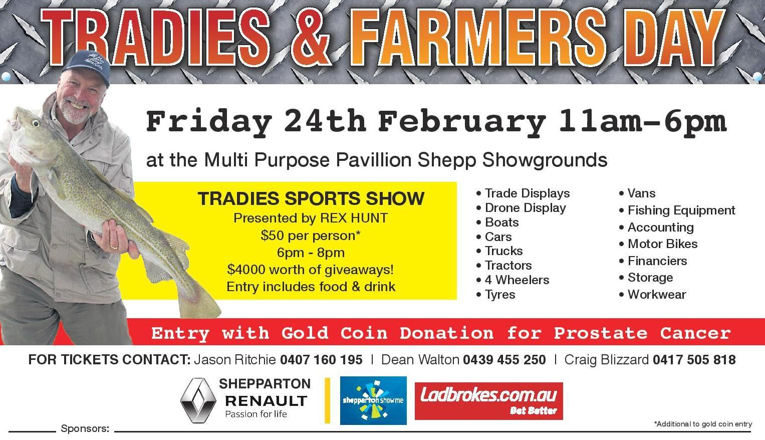 Tradies and Farmers Day