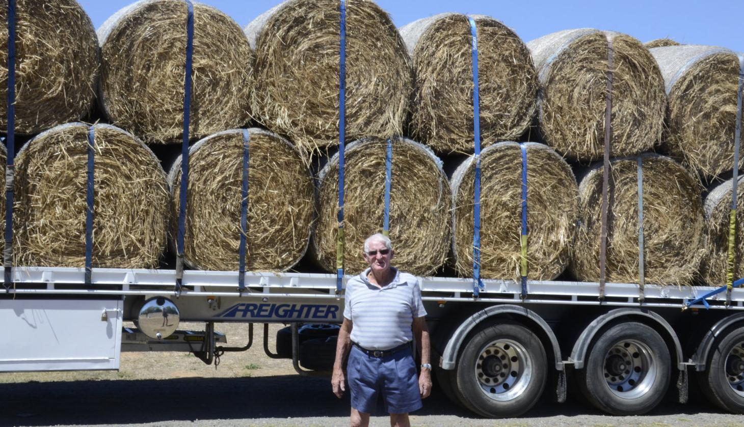 Charity hay run heads north