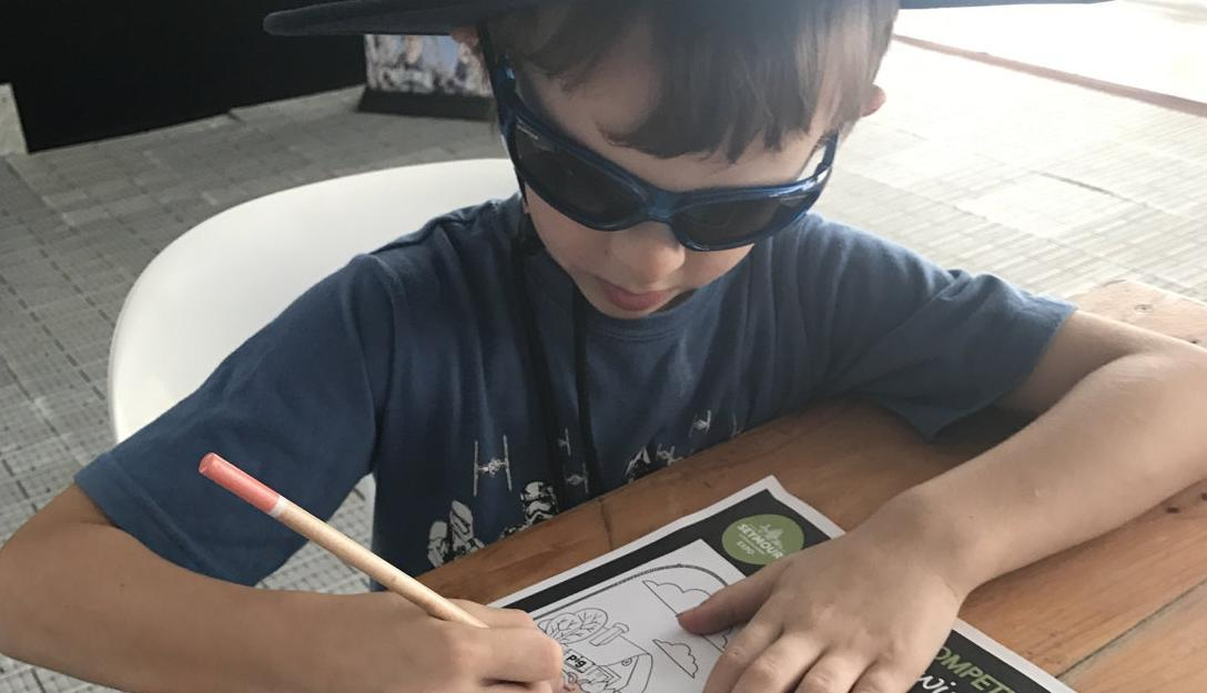 Young artists display their skills