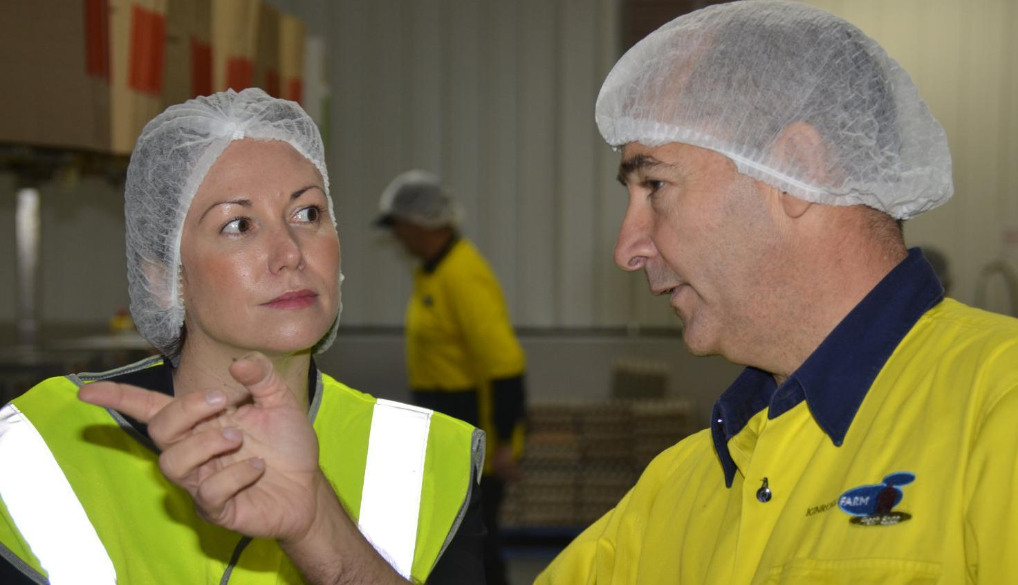 Large investment creates jobs at Euroa egg processor