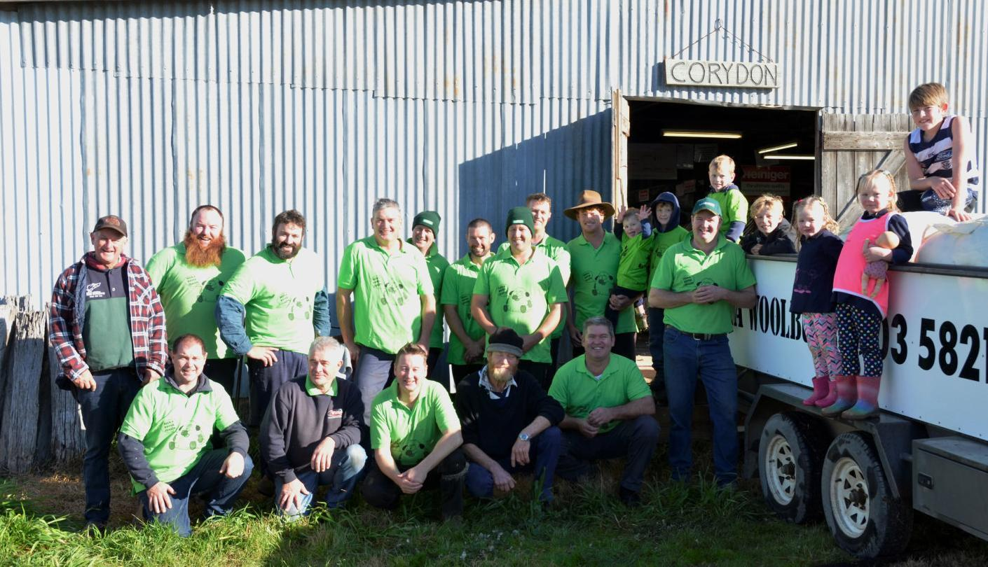 Wanalta shearing for a good cause