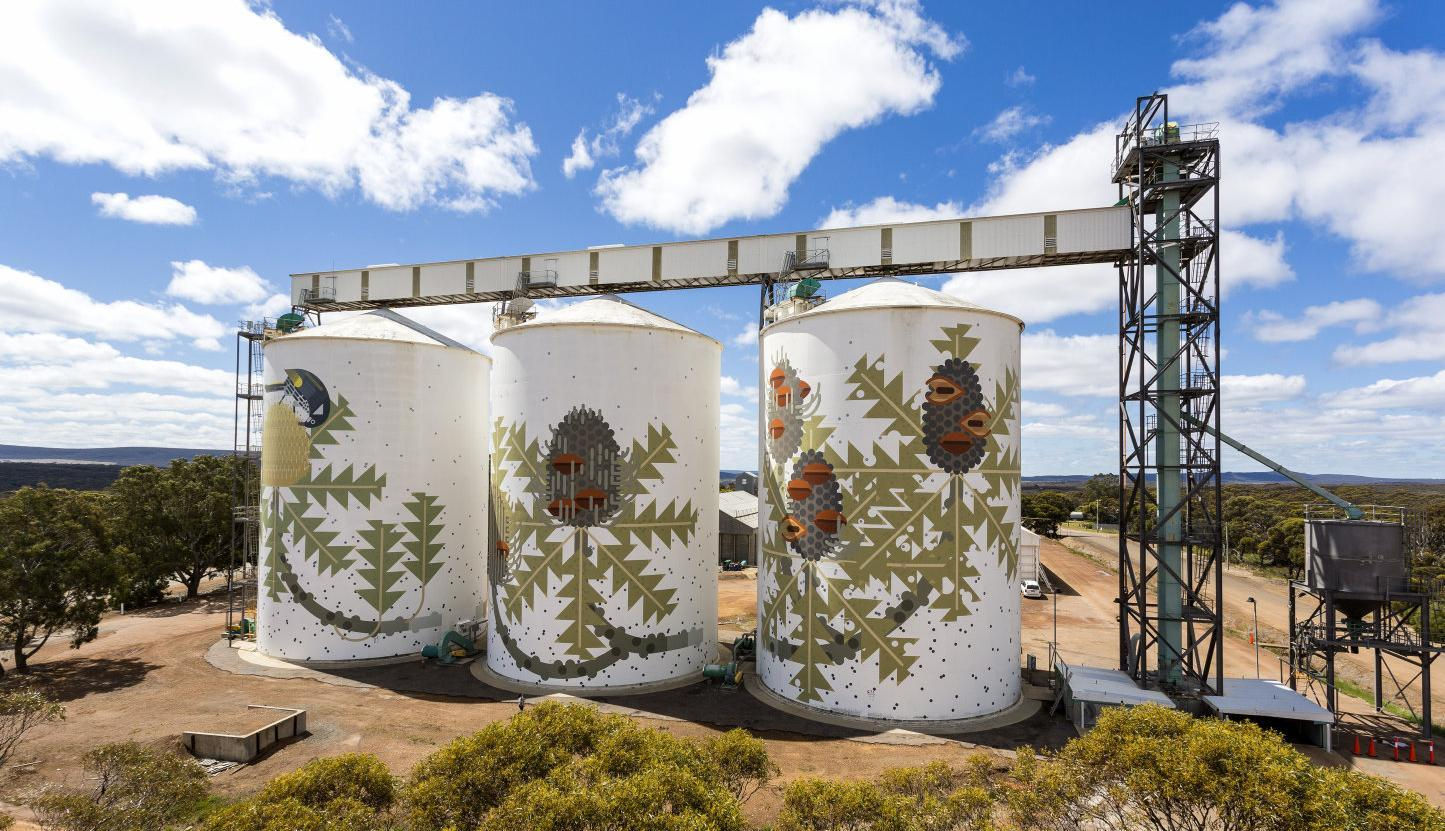 Reflecting the community key to silo art says Nathalia artist