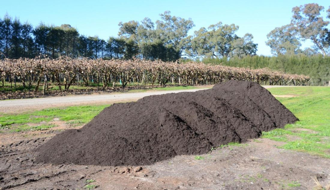 Waste used to feed soil