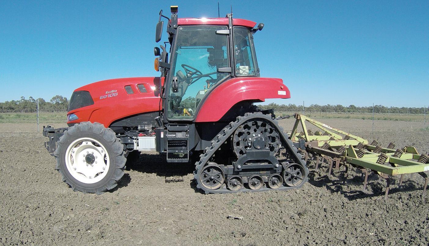 Robotic tractors coming