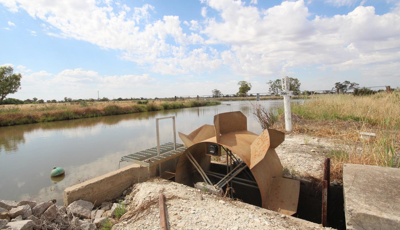 Break-even for Murray water authority