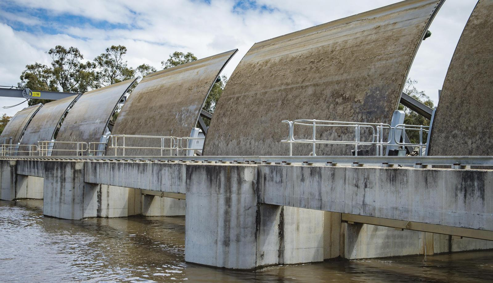 Weir will get new controls