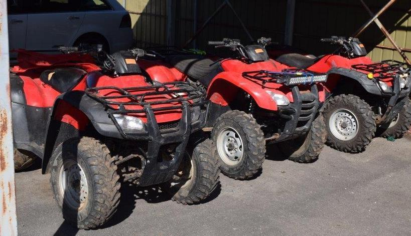 Call to hold summit on quad bikes