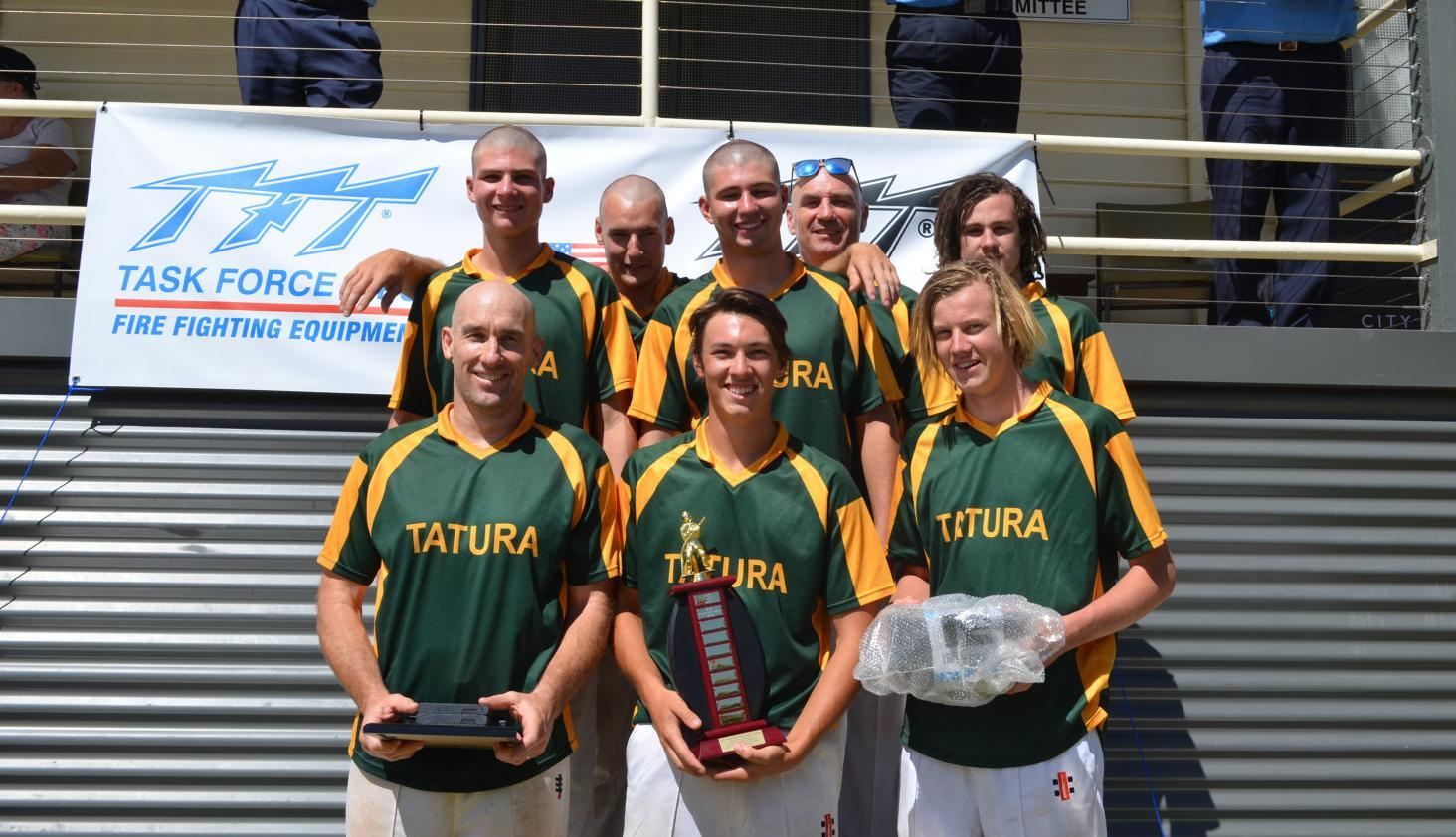 Tatura tastes ultimate glory