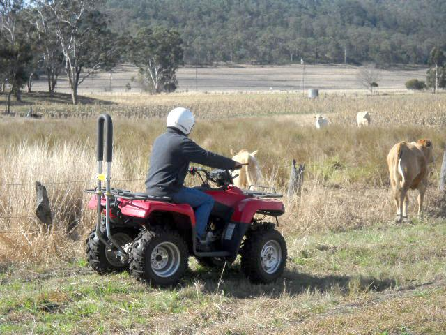 Free training for quad bikes