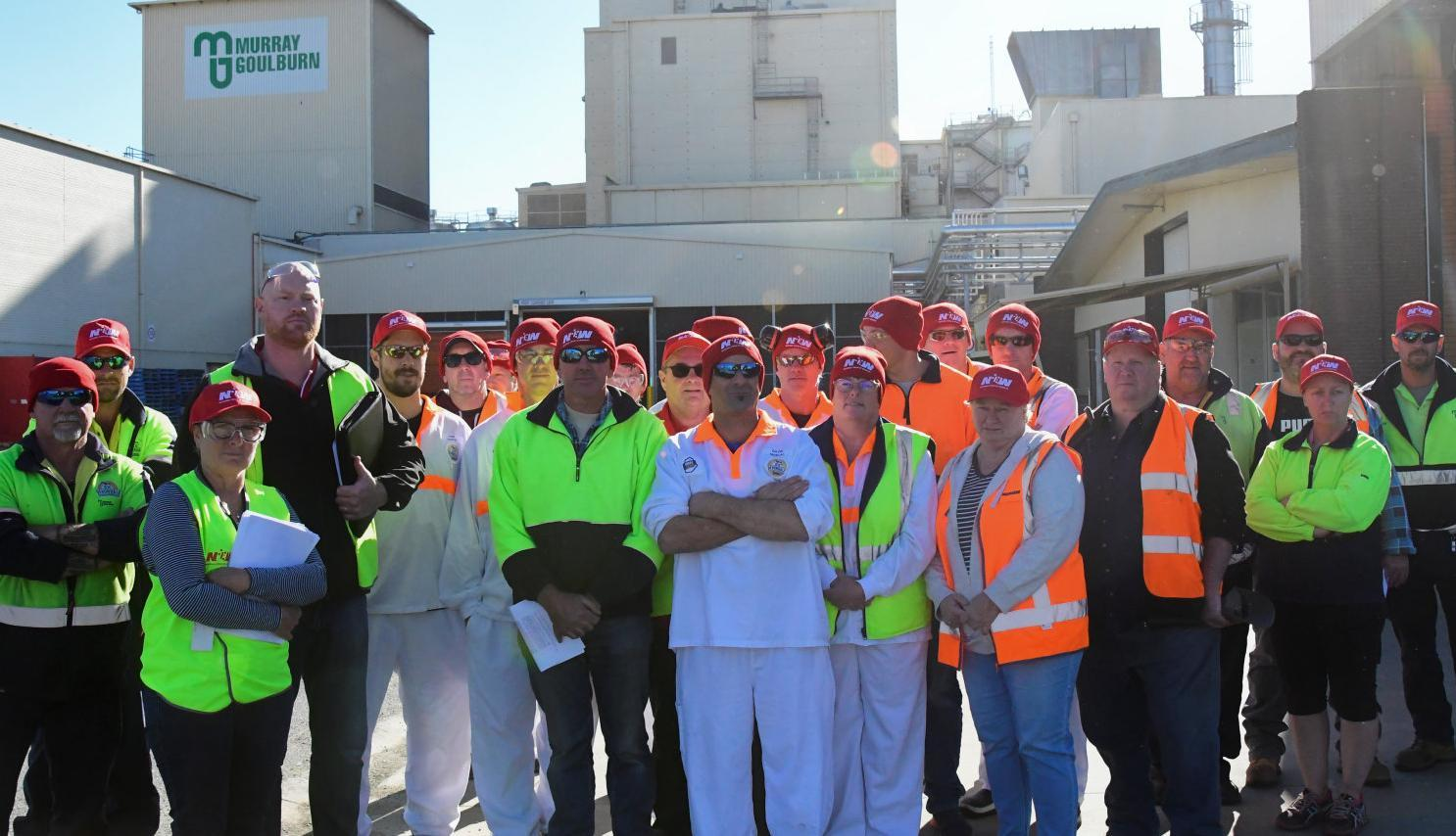 Murray Goulburn workers and unions up for the fight