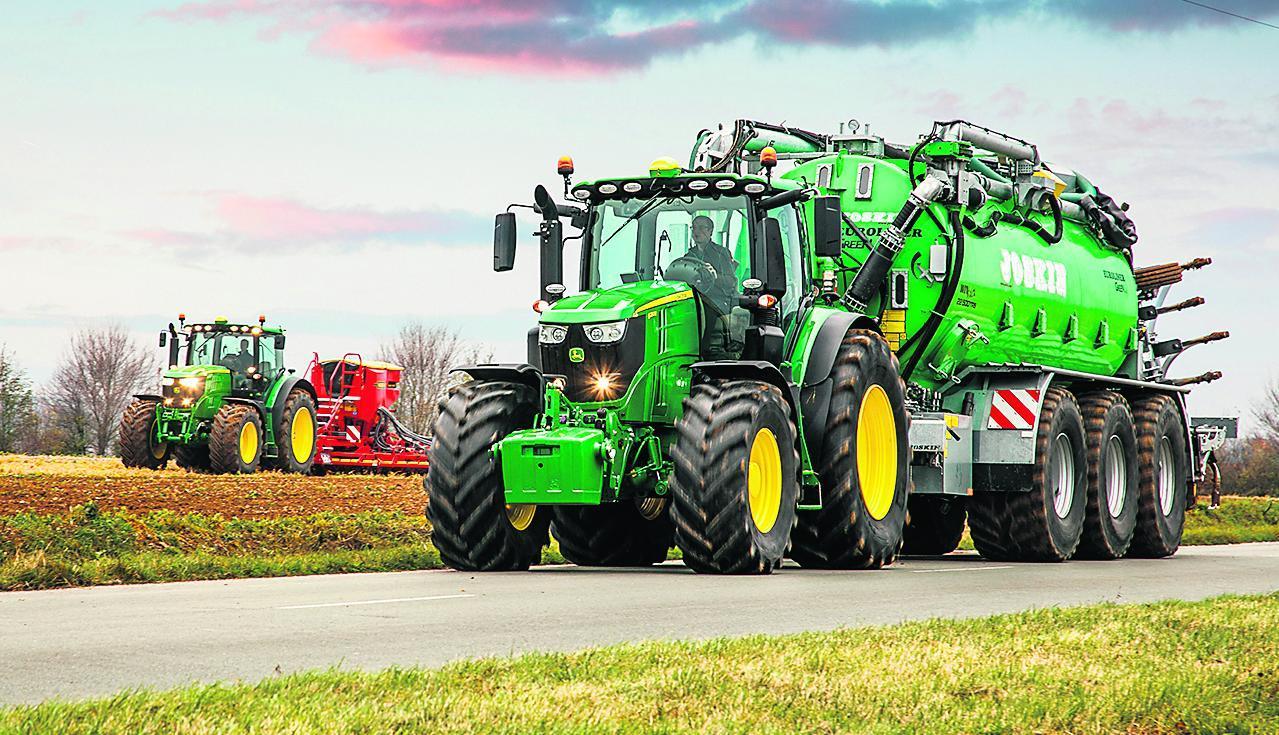 More big green machines