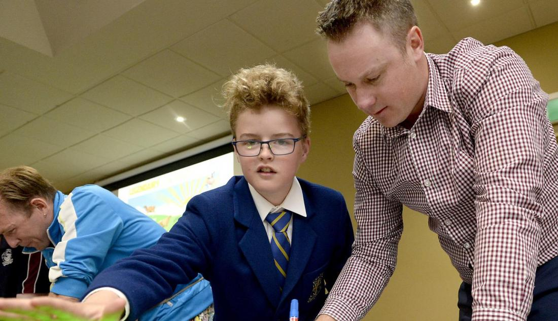 Dairying goes back to school