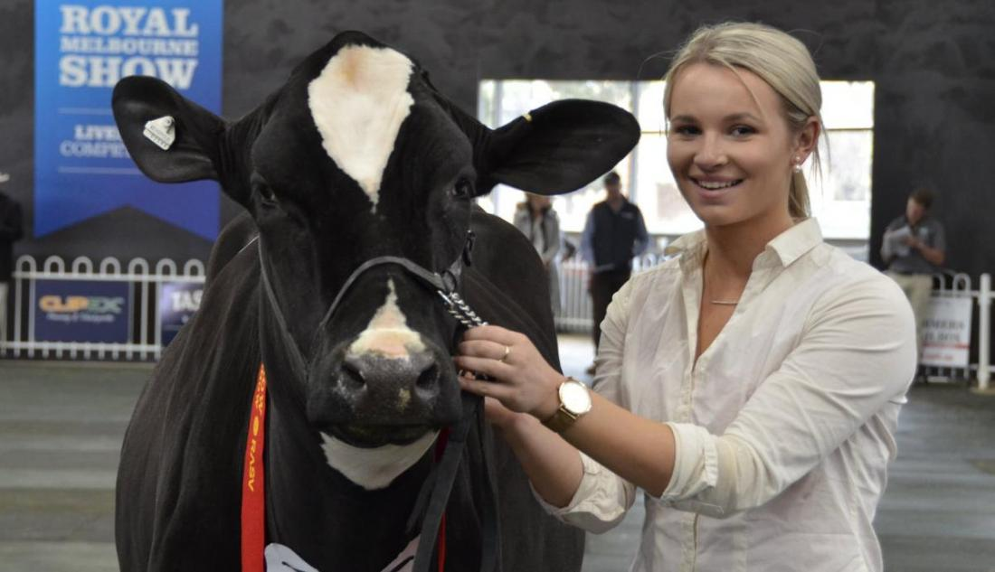 Dairy show was 'really strong'