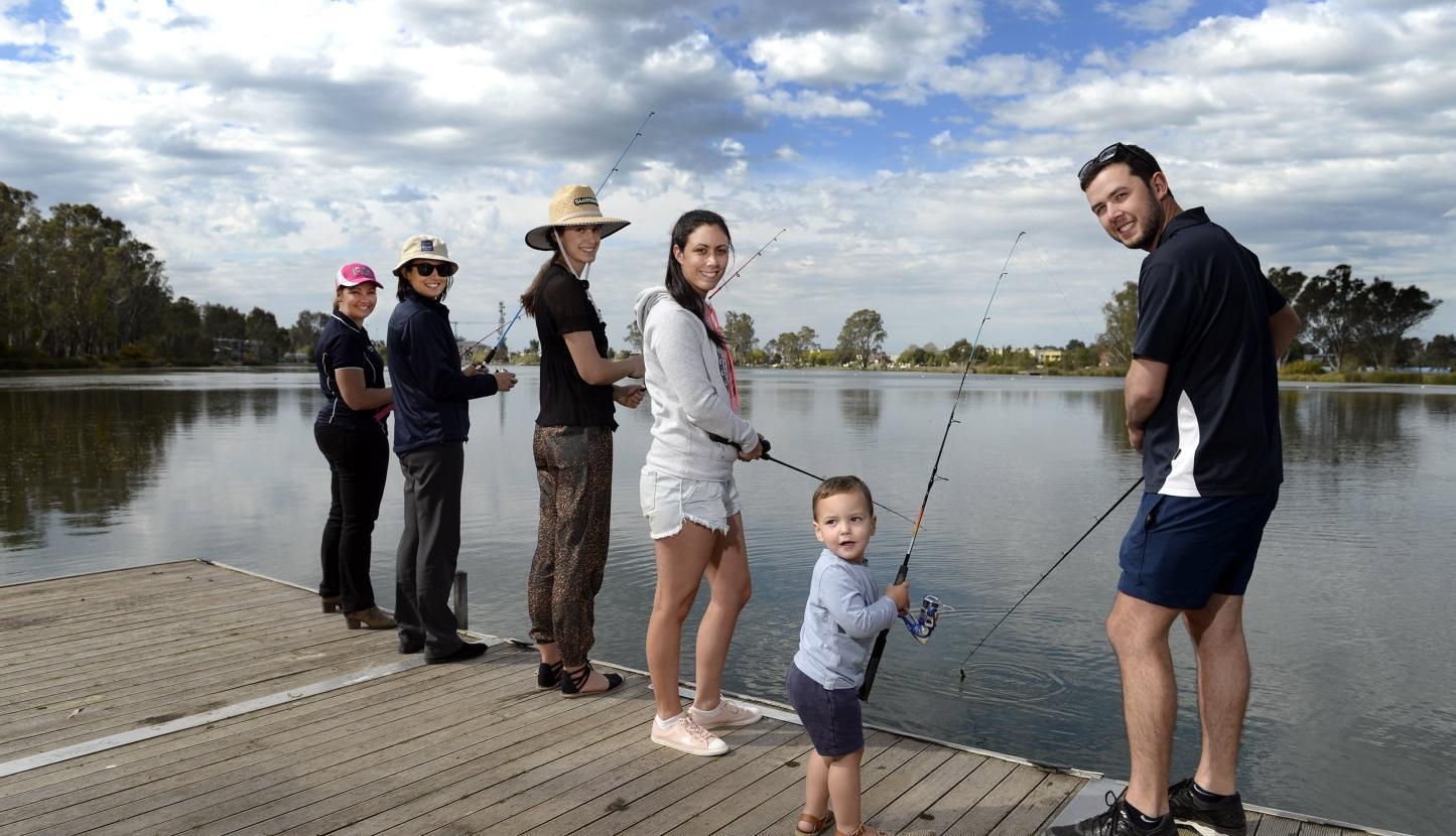 Fishing alert: it's time to wet a line