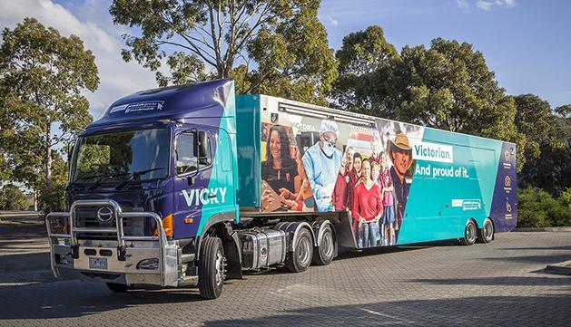 Vicky the truck to visit Shepp Show