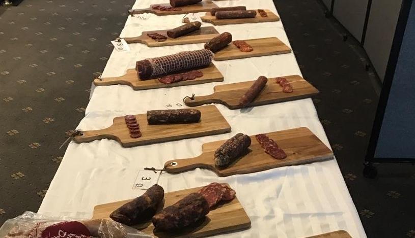 Prize winners slip no salami secrets