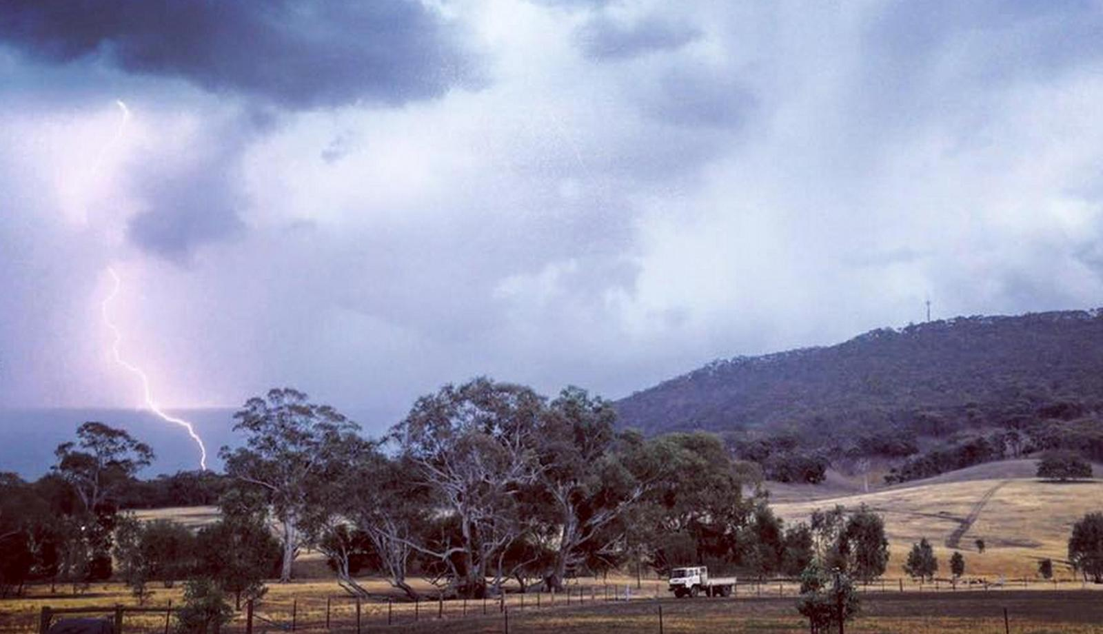 More thunderstorm activity, but falls patchy