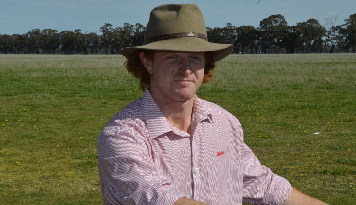 Auctioneer ready for a big stage