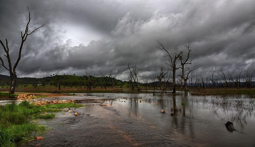Significant fall in maximum temperatures across northern Australia